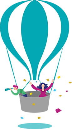 customer success balloon